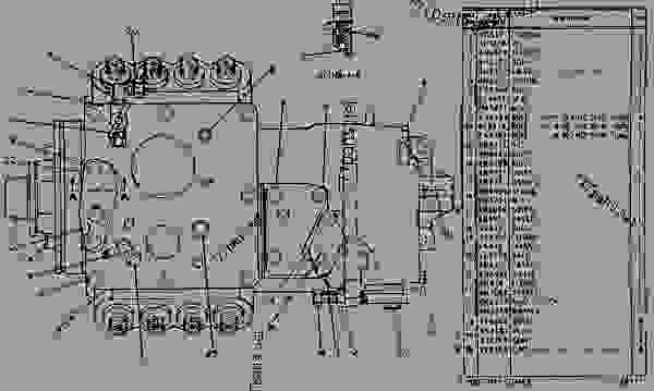 4n1838 governor and fuel injection pump group rh ru 777parts net cat fuel system diagram caterpillar fuel system diagram
