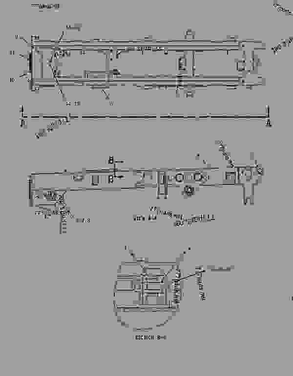 Схема запчастей 1375681 GUARD GROUP-LINES  -AXLE, CENTER, REAR - Самосвалы с шарнирно-сочлененной рамой Caterpillar 725 - 725 Articulated Truck AFX00001-UP (MACHINE) POWERED BY 3176C Engine FRAME AND BODY | 777parts