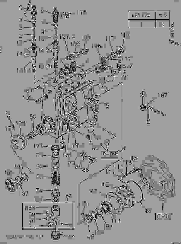 Схема запчастей INJECTION PUMP - Экскаватор Hitachi EX100-5 - EX100-5 ISUZU ENGINE (A4BG1-PG) | 777parts
