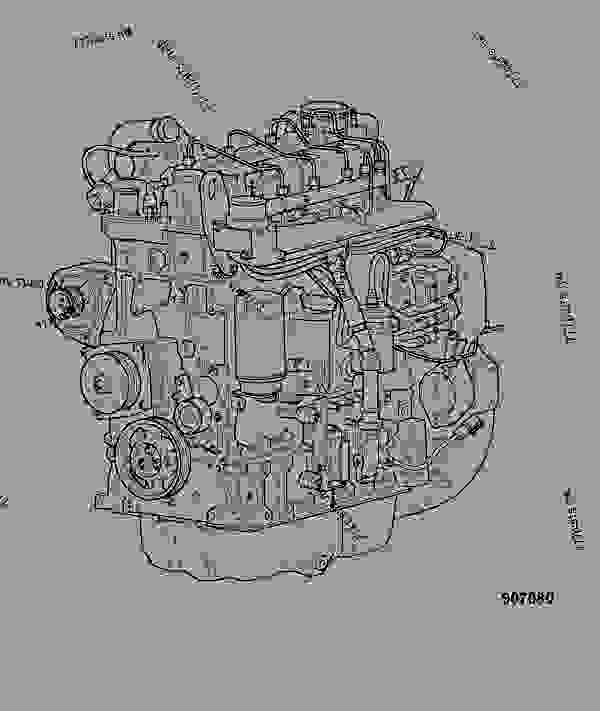 Схема запчастей ENGINE, COMPLETE, 320/40101 - ITL JCB 320/40100 - JCB DIESELMAX OWNER PARTS BOOK, 9812/2300 JCB DIESELMAX ENGINE ASSEMBLY, COMPONENTS ENGINE ASSEMBLY ENGINE, COMPLETE, 320/40101 | 777parts