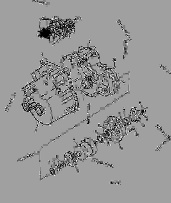 Схема запчастей TRANSMISSION, ASSEMBLY, POWERSHIFT. 460/31200 - ITL JCB .PS720 - TRANSMISSIONS, 9802/1020 PS740 TRANSMISSION PS740 4WD TRANSMISSION TRANSMISSION, ASSEMBLY, POWERSHIFT. 460/31200 | 777parts