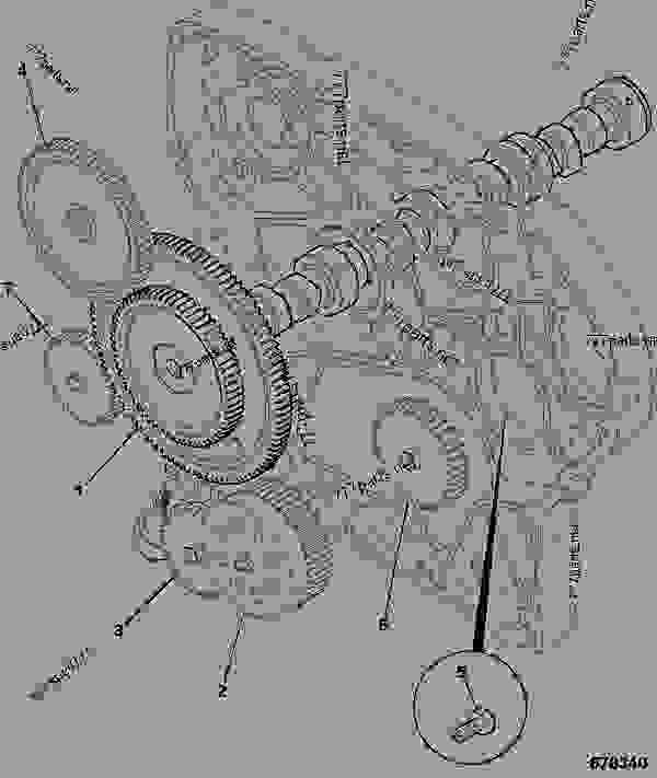Схема запчастей CAMSHAFT, IDLER BLANKING - ITL JCB 320/50030 - JCB444 4 CYLINDER ENGINE PARTS CATALOGUE, 9802/2910 4 CYLINDER NATURALLY ASPIRATED CAMSHAFT & TIMING GEARS CAMSHAFT, IDLER BLANKING | 777parts