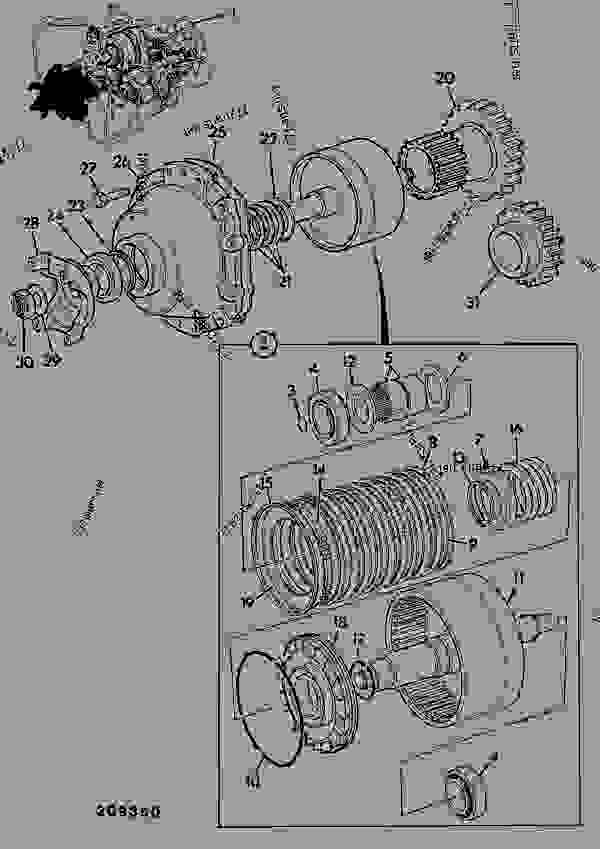 Схема запчастей TRANSMISSION ASSEMBL, Y POWERSHIFT 0.982:1 - CONSTRUCTION JCB 4CN444 SP 35 - REGULAR BACKHOE LOADER (ALL WHEEL STEER), 9802/9500, M400001- AXLES, WHEELS & TRANSMISSION TRANSMISSIONS M404672 ON TRANSMISSION ASSEMBL, Y POWERSHIFT 0.982:1 | 777parts