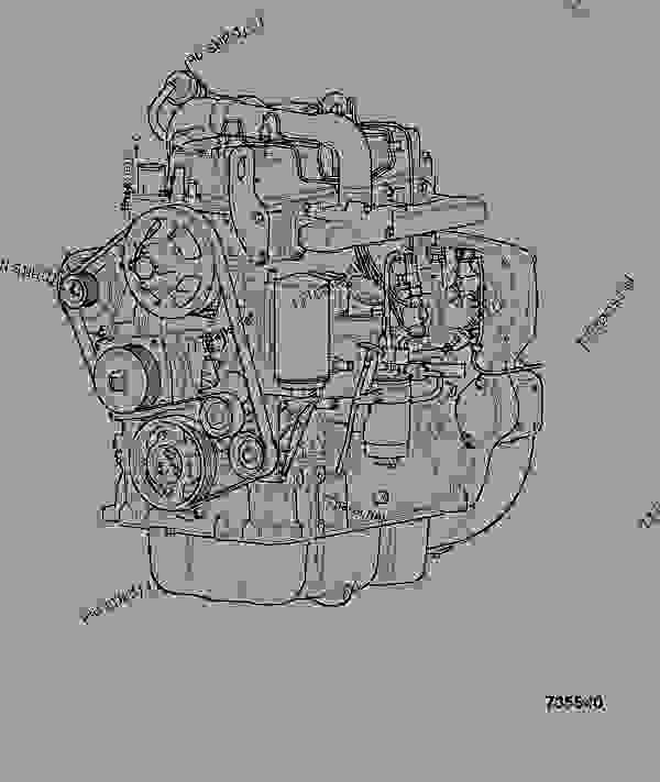 Схема запчастей ENGINE ASSEMBLY, 320/40014, 125BHP - POWER SYSTEMS JCB 320/50004 - JCB444 4 CYLINDER ENGINE PARTS CATALOGUE, 9802/2940 ENGINE 4 CYLINDER TURBOCHARGED ENGINE ASSEMBLY ENGINE ASSEMBLY, 320/40014, 125BHP | 777parts