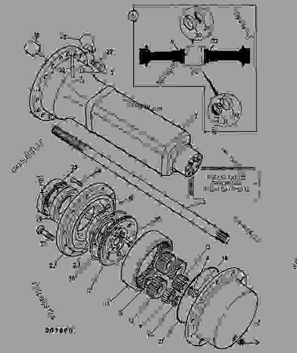 Схема запчастей AXLE, DRIVE ASSEMBLY, 15.78:1, 462/11600, 462/15000 - CONSTRUCTION JCB .PD55 - INTERNATIONAL TRANSMISSIONS LTD, 9802/1010 PD70 AXLE AXLE PD70 MAXTRAC AXLE, DRIVE ASSEMBLY, 15.78:1, 462/11600, 462/15000 | 777parts