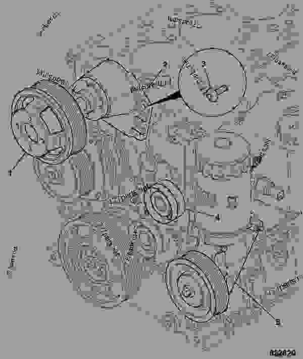 Схема запчастей FRONT END DRIVE, ACCESSORY, WITH COOLING FAN - GEN JCB 320/40076 - JCB444 4 CYLINDER ENGINE PARTS CATALOGUE, 9802/2940 ENGINE 4 CYLINDER TURBOCHARGED FRONT END DRIVE FRONT END DRIVE, ACCESSORY, WITH COOLING FAN | 777parts