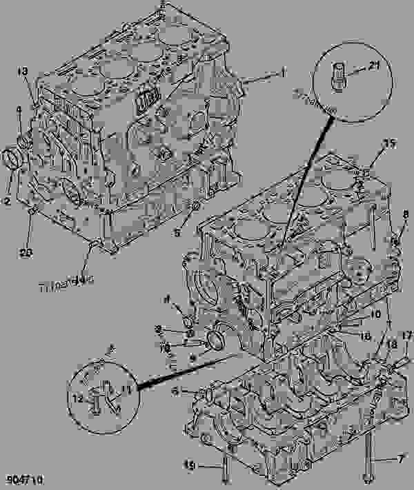 Схема запчастей CYLINDER BLOCK, ASSEMBLY - ITL JCB 320/40100 - JCB DIESELMAX OWNER PARTS BOOK, 9812/2300 JCB DIESELMAX ENGINE ASSEMBLY, COMPONENTS CYLINDER BLOCK ASSEMBLY CYLINDER BLOCK, ASSEMBLY | 777parts