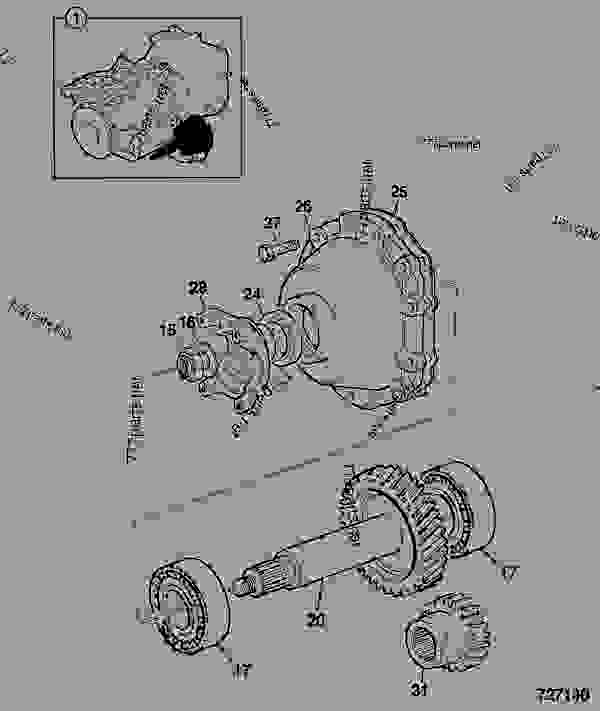 Схема запчастей TRANSMISSION ASSY, PS750, 460/81220 - ITL JCB .PS720 - TRANSMISSIONS, 9802/1020 PS720 TRANSMISSION PS720 2WD TRANSMISSION C/W PTO TRANSMISSION ASSY, PS750, 460/81220 | 777parts
