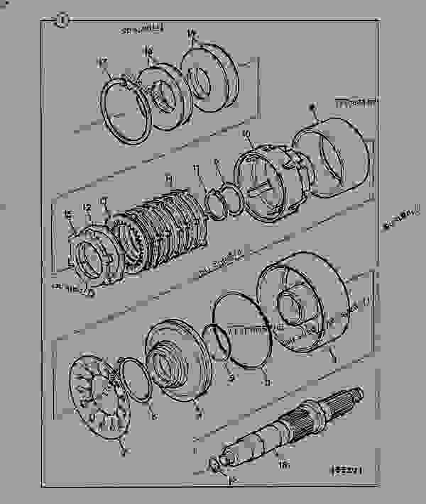 Схема запчастей TRANSMISSION, CLUTCH UNIT, DROP BOX. 460/32200 - CONSTRUCTION JCB PS725 - TRANSMISSIONS, 9802/1020 PS740 TRANSMISSION PS740 4WD TRANSMISSION C/W PTO TRANSMISSION, CLUTCH UNIT, DROP BOX. 460/32200 | 777parts