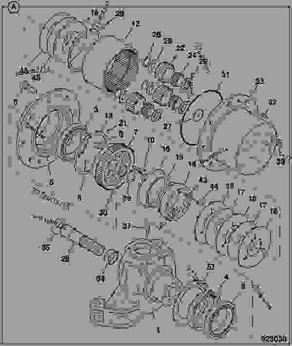 Схема запчастей 475/M1451, WHEEL HUB - CONSTRUCTION JCB STD Diff - INTERNATIONAL TRANSMISSIONS LIMITED, 9802/1030 DEAD STEER AXLES WHEEL HUB ASSEMBLIES 475/M1451, WHEEL HUB | 777parts