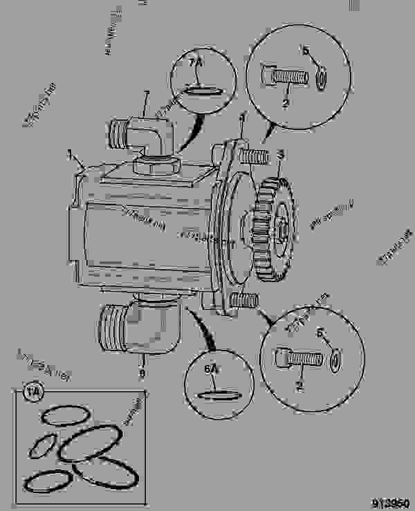 Схема запчастей PUMP, CHARGE, GEAR - AGRICULTURAL JCB ROBOT 1110T - ROBOT PARTS CATALOGUE WHEEL AND TRACKED, 9812/2500 HYDRAULICS & AIR INCLUDING, STEERING PUMP/MOTOR & PUMP DRIVE PUMP, CHARGE, GEAR | 777parts