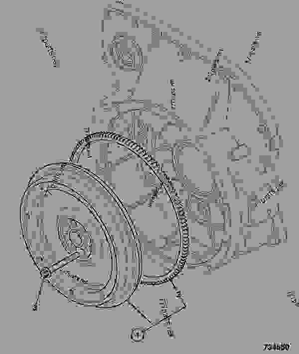 Схема запчастей FLYWHEEL ASSEMBLY, 10SAE - CONSTRUCTION JCB 320/40031 - JCB444 4 CYLINDER ENGINE PARTS CATALOGUE, 9802/2910 4 CYLINDER NATURALLY ASPIRATED FLYWHEEL ASSEMBLY FLYWHEEL ASSEMBLY, 10SAE | 777parts