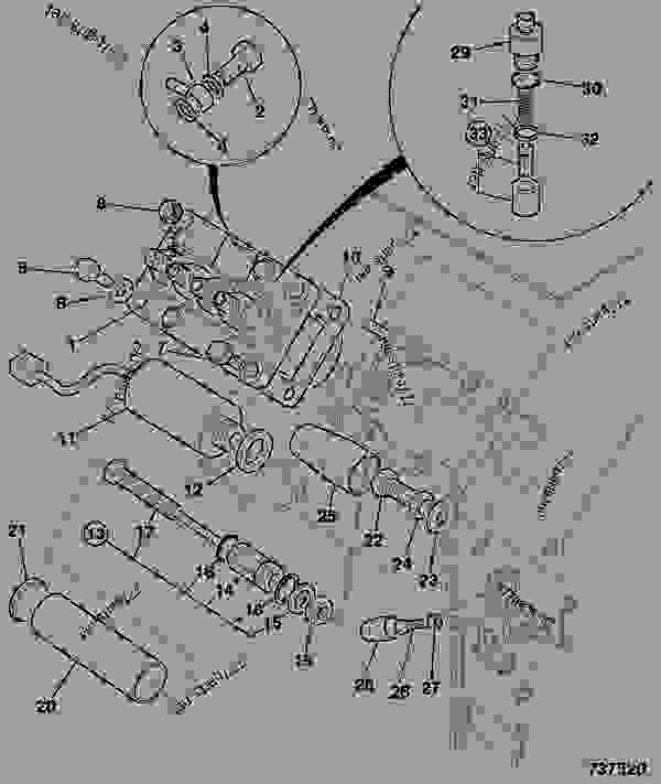 60cc � wiring diagram for jcb forklift: pump, fuel injection, &  shut-off solenoid