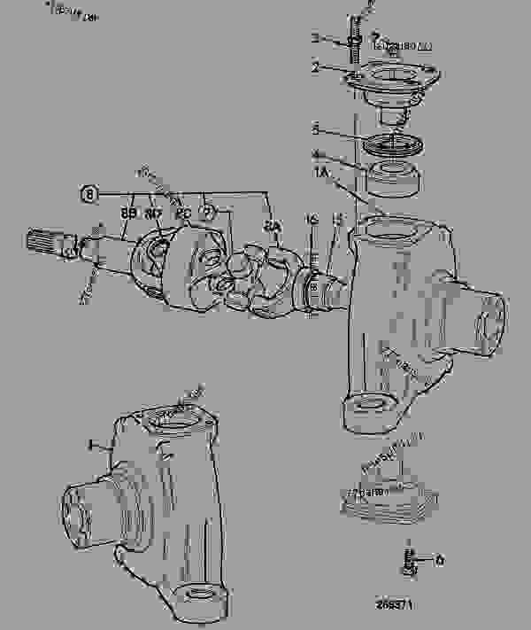 Схема запчастей KNUCKLE, STEER AXLE, 461/22040 - CONSTRUCTION JCB .PD55 - INTERNATIONAL TRANSMISSIONS LTD, 9802/1010 SD70 AXLE AXLE ASSY SD70 LSD P.T ROD KNUCKLE, STEER AXLE, 461/22040 | 777parts