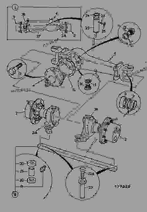 Схема запчастей AXLE ASSEMBLY - SD55, REAR 18.6:1 - CONSTRUCTION JCB 2DX LE - COMPACT BACKHOE LOADER 2DX, 9802/8850, M480600- AXLES, WHEELS & TRANSMISSION AXLES, REAR AXLE ASSEMBLY - SD55, REAR 18.6:1 | 777parts