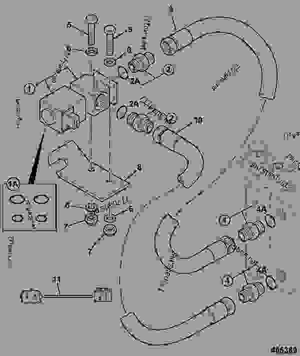Схема запчастей CIRCUIT, INCHING VALVE, TRANSMISSION - INDUSTRIAL JCB TLT 35D - TELETRUK INDUSTRIAL FORKLIFT, 9802/0240, MAY 2008- HYDRAULICS & AIR INCLUDING, STEERING HOSE & PIPEWORK CIRCUIT, INCHING VALVE, TRANSMISSION | 777parts