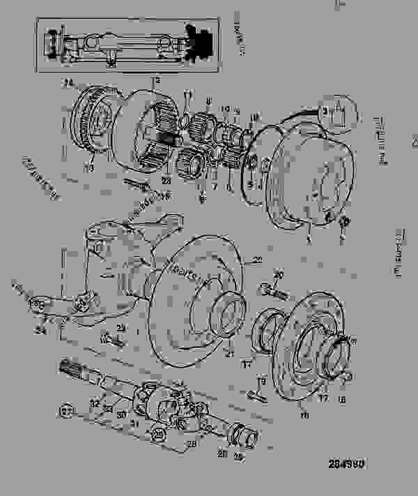 Схема запчастей HUB & COMPONENTS, FRONT RIGHT HAND 4WS - CONSTRUCTION JCB FASTRAC 2135 - FASTRAC, 9802/6670, 740001- AXLES, WHEELS & TRANSMISSION AXLES, FRONT HUB & COMPONENTS, FRONT RIGHT HAND 4WS | 777parts