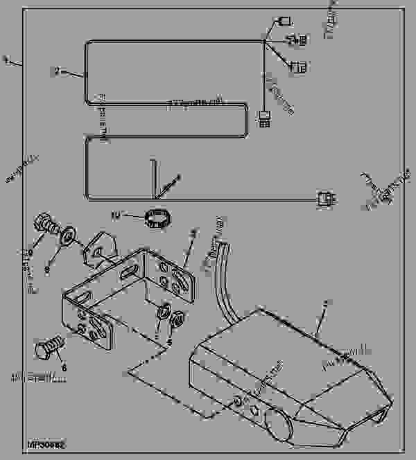 Схема запчастей BRAKE CONTROLLER [D05] - PROGATOR John Deere TD100 - PROGATOR - ProGator Attachments-TD100 Top Dresser,403 Spreader,Power Bed,Cab,Core Harvester,Hitch 80 ACCESSORIES BRAKE CONTROLLER [D05] | 777parts