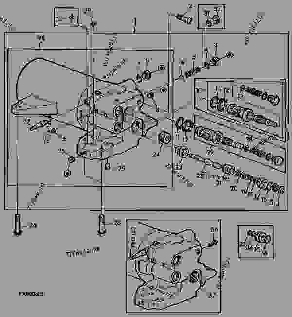 ford 3000 hydraulic filter system diagram