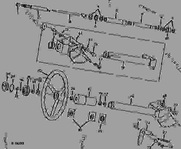 John Deere 4430 Wiring Diagram together with  on 790 midfront pto kit