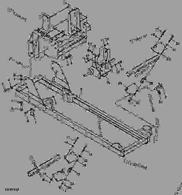 Схема запчастей Attaching Parts - ОБРАТНАЯ ЛОПАТА John Deere 3520 - BACKHOE - 46, 47, 48, 375, 447, 448 and 485 Backhoes (for 4000 Series Compact Utility Tractor) Backhoe 46 Attaching Parts | 777parts