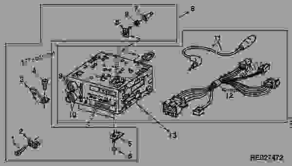 john deere radio wiring  john  free engine image for user