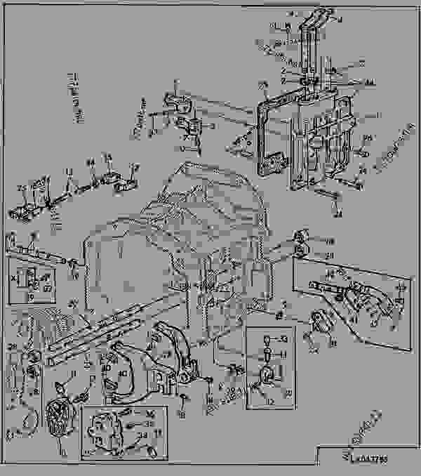 john deere 6400 transmission diagram