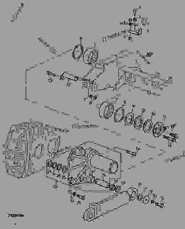 Схема запчастей HILLMASTER ATTACHING PARTS, R.H. SIDE - КОМБАЙН John Deere 2058 - COMBINE - 2054, 2056, 2058 Combines (European Edition) HILLMASTER SYSTEM HILLMASTER ATTACHING PARTS, R.H. SIDE | 777parts