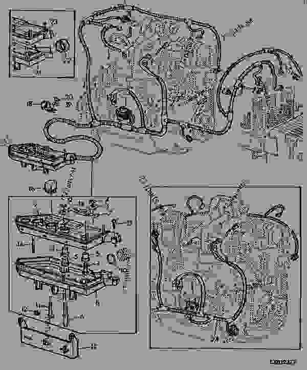 engine wiring harness  u0422 u0420 u0410 u041a u0422 u041e u0420 john deere 6400 tractor kicker l7 wiring diagram 4 ohm Residential Electrical Wiring Diagrams