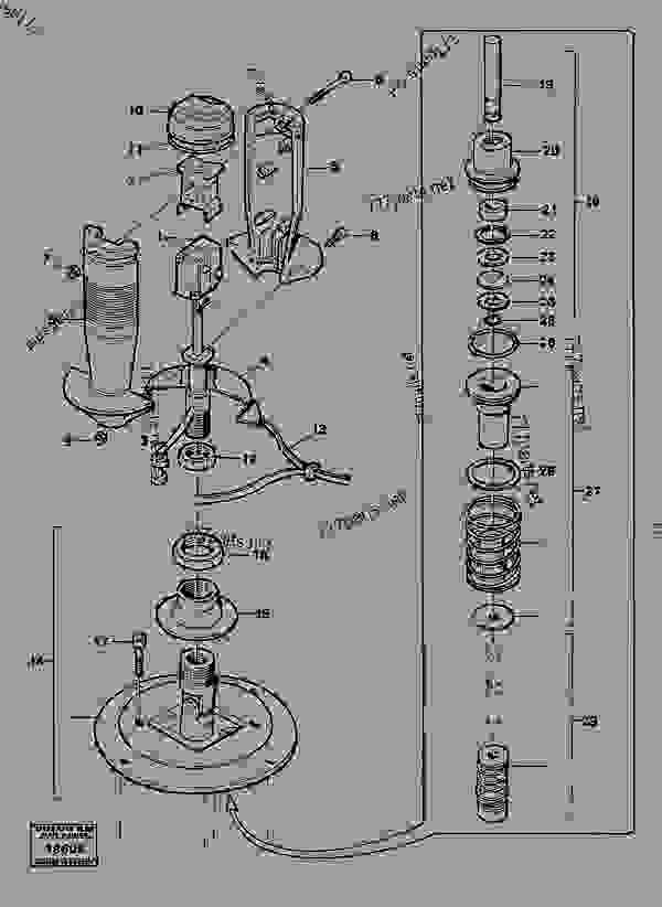 Схема запчастей Valve section - Устаревшая техника Volvo BM Volvo 4600B - Hydraulic system, digging/handling/grading equipm., misc. Equip. Mechanical equipment | 777parts
