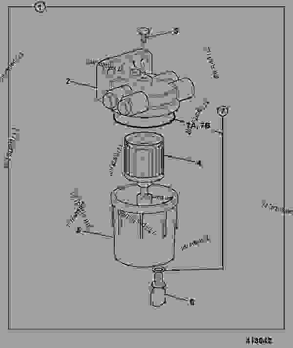 filter  fuel sediment  s